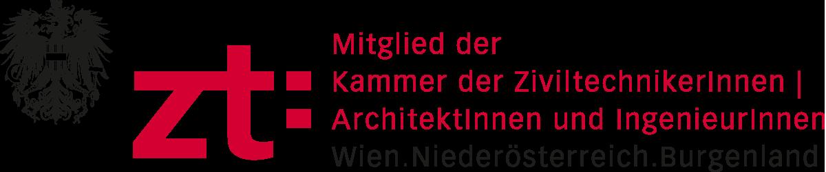Mitglied der Kammer der ZiviltechnikerInnen | ArchitektInnen und IngenieurInnen